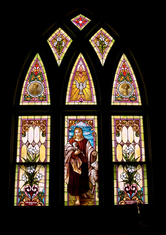 Stained Jewelled Glass in Chappell Hill (1 of 12)