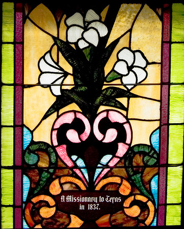 Stained Jewelled Glass in Chappell Hill (8 of 12)