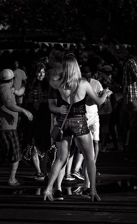 Festival dancer-