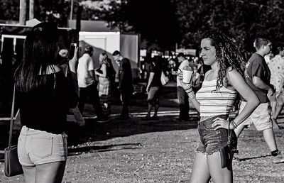 Festival photo girls-