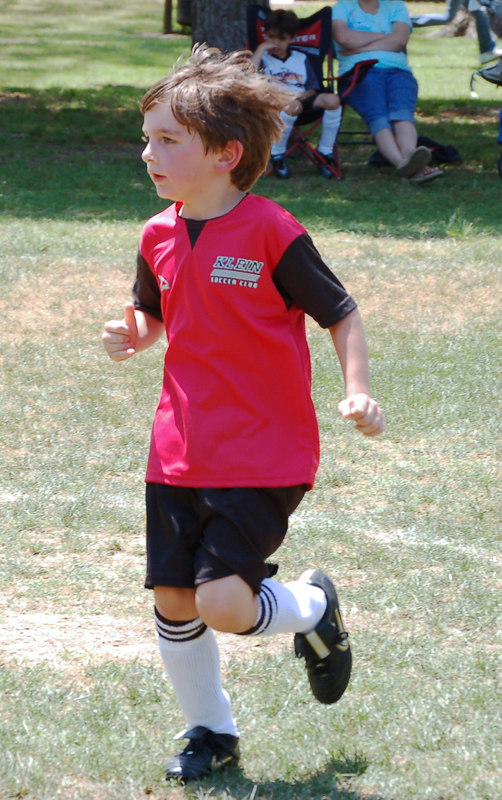 Patrick running