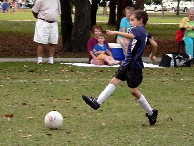 George kicks