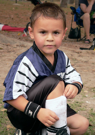 wesley on the sidelines