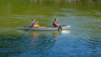 Klein Swim Canoe trip DropDSCF7171-71711