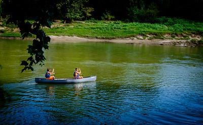 Klein Swim Canoe trip DropDSCF7167-71671