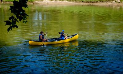 Klein Swim Canoe trip DropDSCF7181-71811