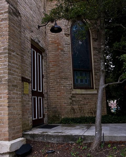 The church's back door-13