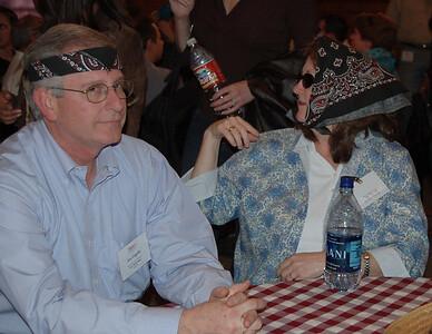 Jon and Susan display their wild sides