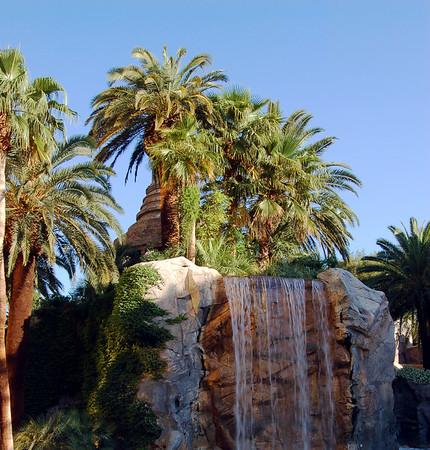Island waterfall