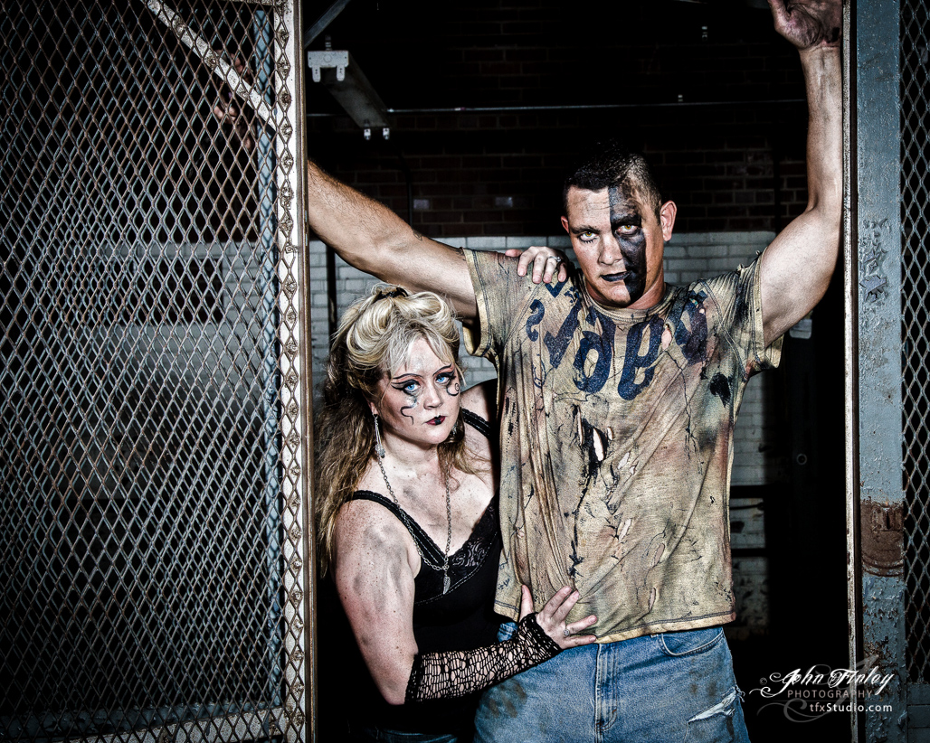 Denver and TJ Watson:  Grunge Photo Shoot 2012