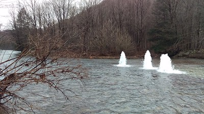 Vintondale Bore Holes - North Branch of Blacklick Creek