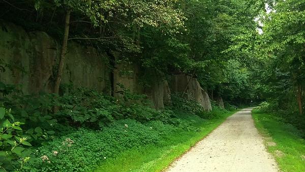Ghost Town Trail, near Heshbon, PA