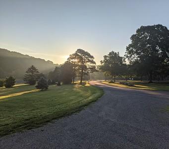 Summer Sunrise at Blue Spruce