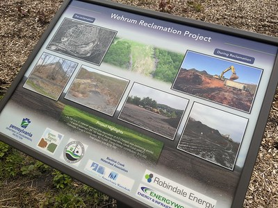 Wehrum Reclamation Project on the Ghost Town Trail