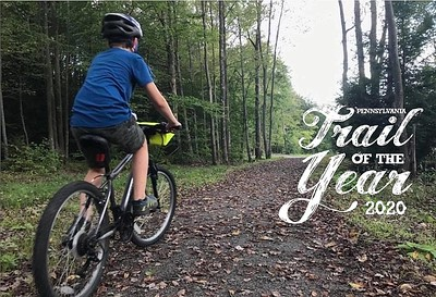 Ghost Town Trail - PA's Trail of the Year for 2020