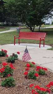 Memorial Park's New Benches