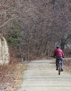 Winter Cycling on the Ghost Town Trail