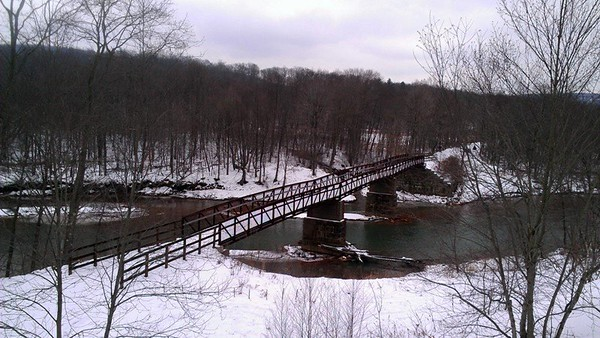 Amerford Bridge at the Ghost Town Trail