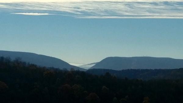 Foggy Conemaugh Gap