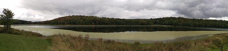 Early Signs of Fall at Hemlock Lake