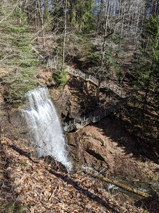Buttermilk Falls - March 19, 2021