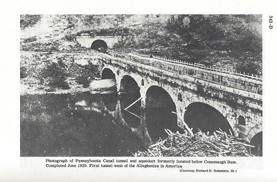 Canal Aqueduct and Tunnel