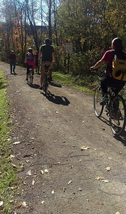 Fall Ride on the Hoodlebug Trail