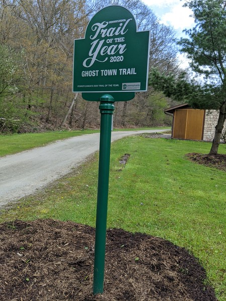 Ghost Town Trail - PA Trail of the Year 2020