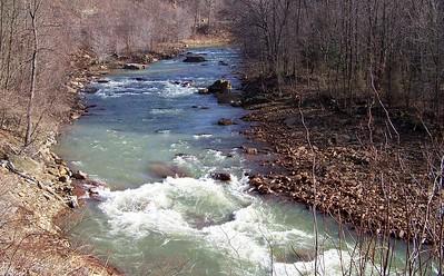 Blacklick Creek Rapids