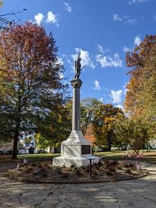 Fall Scene at Memorial Park