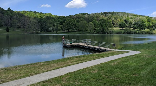 All Access Fishing Dock at Blue Spruce Park
