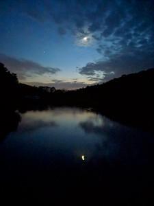 Nighttime Sky at Blue Spruce Lake