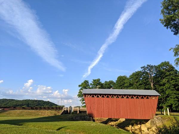 Summer Sky at Trusal Bridge