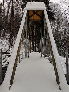 The Eclipse Bridge in Snow