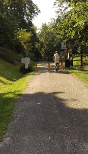 Heading Out on the Blairsville Riverfront Trail