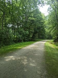 Ghost Town Trail near Wheatfield