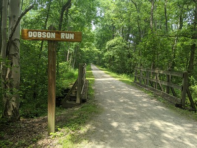 Dobson Run on the Ghost Town Trail