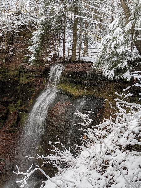 Buttermilk Falls - December 2019