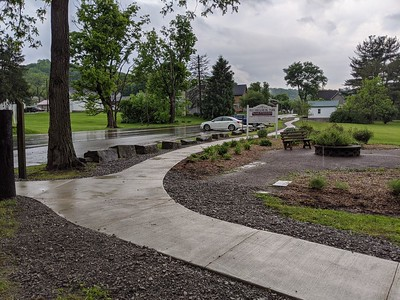 Old Smicksburg Park Sidewalk Project - June 2020
