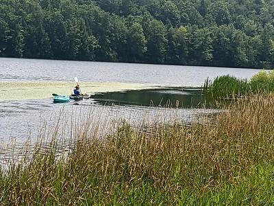 Kayaking Hemlock Lake