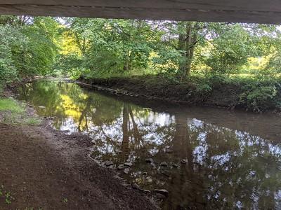 Crooked Creek Summer Scene