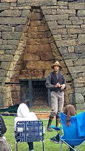 Van Wagner presented his program Tall Timbers at the Eliza Furnace on September 3, 2017. In Van's always entertaining style the program highlighted the timber history and heritage of our region.