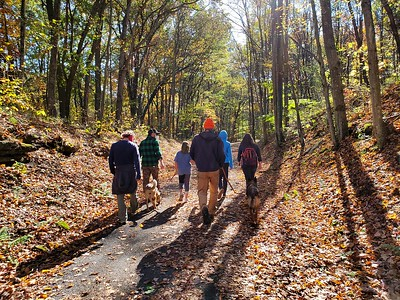 Family Hike on the Hoodlebug Trail - October 2020