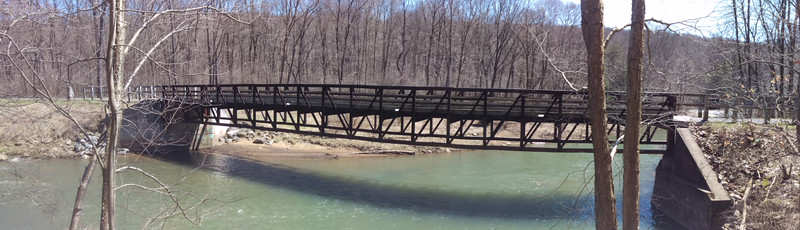 Red Mill Bridge on the Ghost Town Trail