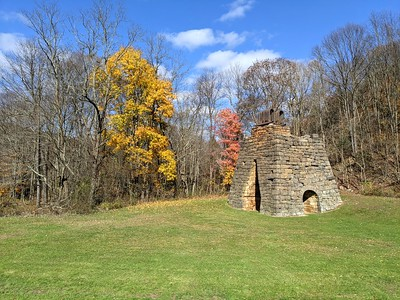 Final Fall Colors at Eliza Furnace