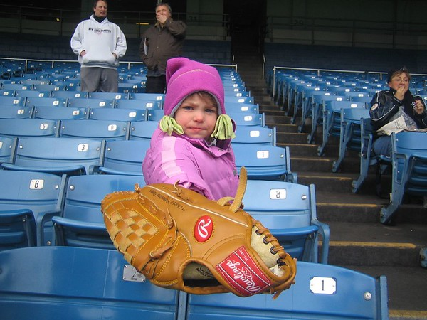 Julianna at Yankee Game 03
