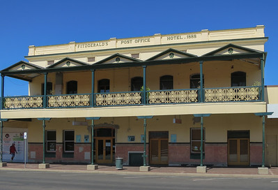 Post Office Hotel (circa 1888) - Bourke, New South Wales