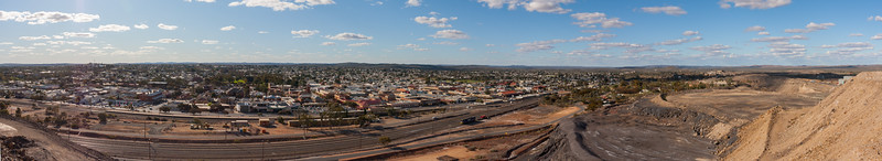 Broken Hill panoramic, New South Wales