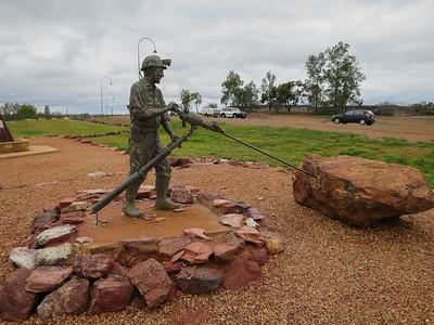 The Cobar Miner - Cobar Miners Heritage Park  (Cobar), New South Wales