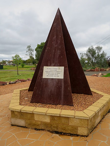 Mining Memorial - Cobar Miners Heritage Park  (Cobar), New South Wales